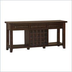 Hillsdale Tuscan Retreat Sideboard in Rustic Mahogany