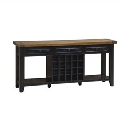 Hillsdale Tuscan Retreat Sideboard in Black and Oxford
