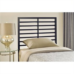 Hillsdale Latimore Headboard in Charcoal Black - Full/Queen
