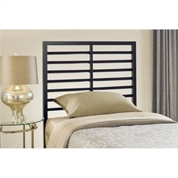 Hillsdale Latimore Slat Headboard in Black - Full/Queen