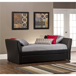 Hillsdale Natalie Daybed with Trundle in Black