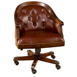 Hillsdale Harding Arm Office Chair in Rich Cherry