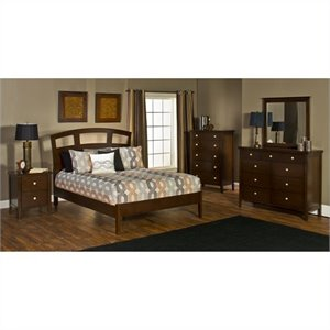 Hillsdale Metro 4 Piece Bedroom Set with Riva Platform Bed