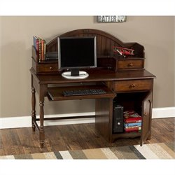 Hillsdale Westfield Desk and Hutch Set in Espresso Finish