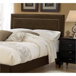 Hillsdale Amber Panel Headboard in Chocolate