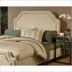 Hillsdale Carlyle Headboard with Rails in Buckwheat - Queen