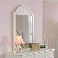 Hillsdale Westfield Mirror in Off-White Finish