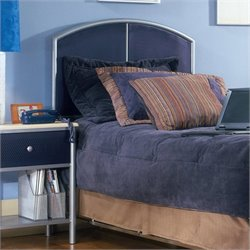 Hillsdale Universal Youth Panel Headboard In Blue - Twin