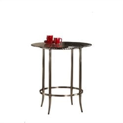 Hillsdale Parkside Bar Height Pub Table in Antique Pewter