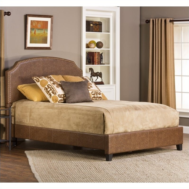 Durango Bed in Weathered Brown