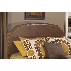 Hillsdale Durango Panel Headboard in Brown - Queen