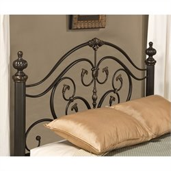 Hillsdale Grand Isle Spindle Headboard in Bronze - Queen