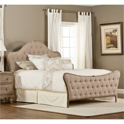 Hillsdale Jefferson Bed in Antique Beige - King