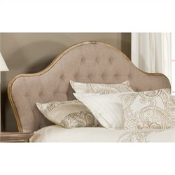 Hillsdale Jefferson Tufted Panel Headboard in Beige