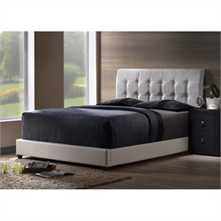 Hillsdale Lusso Bed in White - Twin