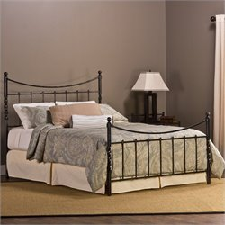 Hillsdale Sebastion Bed in Weathered Black - Twin