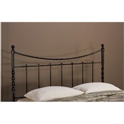 Hillsdale Sebastion Spindle Headboard in Black - Twin