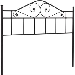 Hillsdale Harrison Full Queen Spindle Headboard in Textured Black
