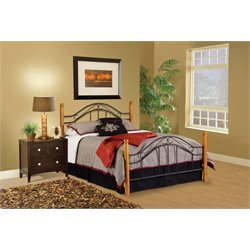 Hillsdale Winsloh King Poster Bed in Black