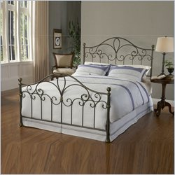 Hillsdale Meade Bed in Silver Gold - Full