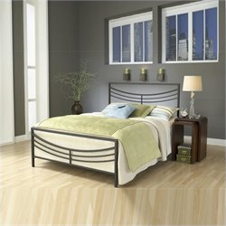 Hillsdale Kingston Bed in Brown - Full