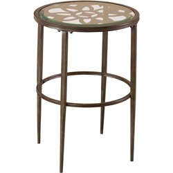 Hillsdale Marsala End Table in Gray
