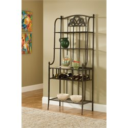 Hillsdale Marsala Baker's Rack in Gray