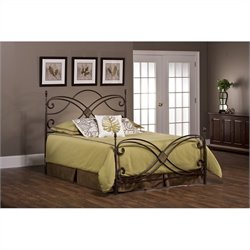 Hillsdale Barcelona Bed Set with Rails - Full