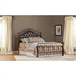 Hillsdale Hyde Park Bed Set with Rails - Queen