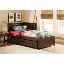 Hillsdale Frankfort Bed Set with Rails and Trundle - Twin