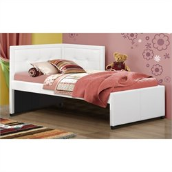 Hillsdale Frankfort Bed Set with Rails - Twin