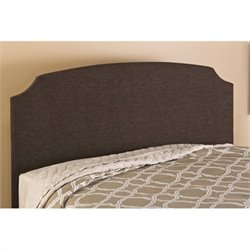Hillsdale Lawler Headboard with Rails in Dark Brown - Twin