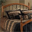 Burton Way Spindle Headboard in Cherry and Black