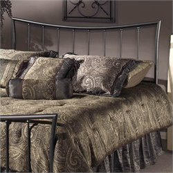Hillsdale Edgewood Spindle Headboard in Pewter  - Twin