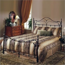 Hillsdale Bennett Metal Poster Bed in Antique Bronze Finish - King