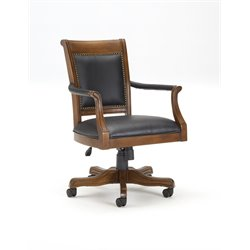 Hillsdale Kingston Leather Back Arm Chair