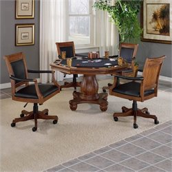 Hillsdale Kingston Poker Table Set