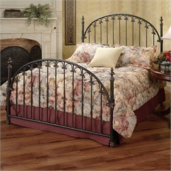 Hillsdale Kirkwell Metal Poster Bed in Brushed Bronze Finish - Full