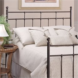 Hillsdale Providence Metal Headboard in Antique Bronze - Twin