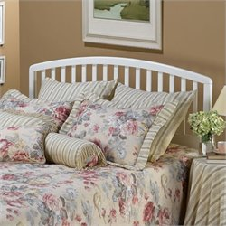 Hillsdale Carolina Slat Headboard in White Finish - Twin