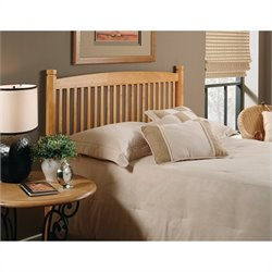 Hillsdale Oak Tree Slat Headboard in Oak - Full/Queen