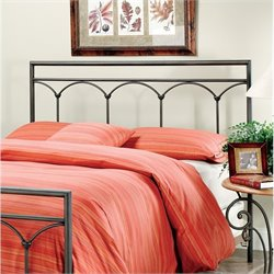 Hillsdale McKenzie Spindle Headboard in Black - Twin
