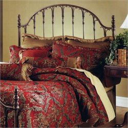 Hillsdale Tyler Metal Headboard in Antique Bronze - Full/Queen