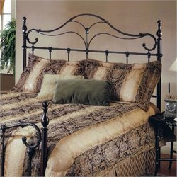 Hillsdale Bennett Metal Headboard in Antique Bronze - Full/Queen