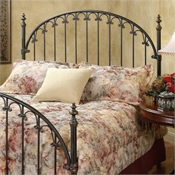 Hillsdale Kirkwell Metal Headboard in Bronze