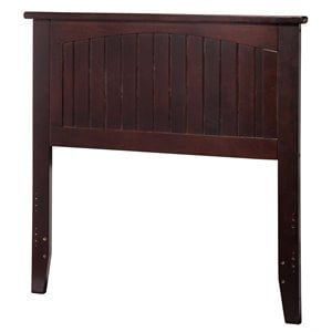 Atlantic Furniture Nantucket Panel Headboard in Espresso