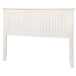 Atlantic Furniture Nantucket Panel Headboard in White