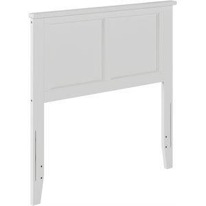 Atlantic Furniture Madison Panel Headboard in White