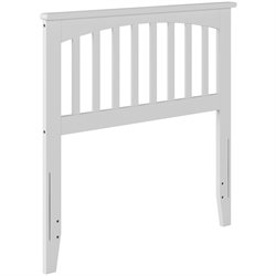 Atlantic Furniture Mission Spindle Headboard in White