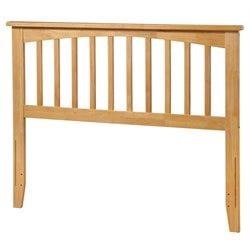 Atlantic Furniture Mission Spindle Headboard in Natural